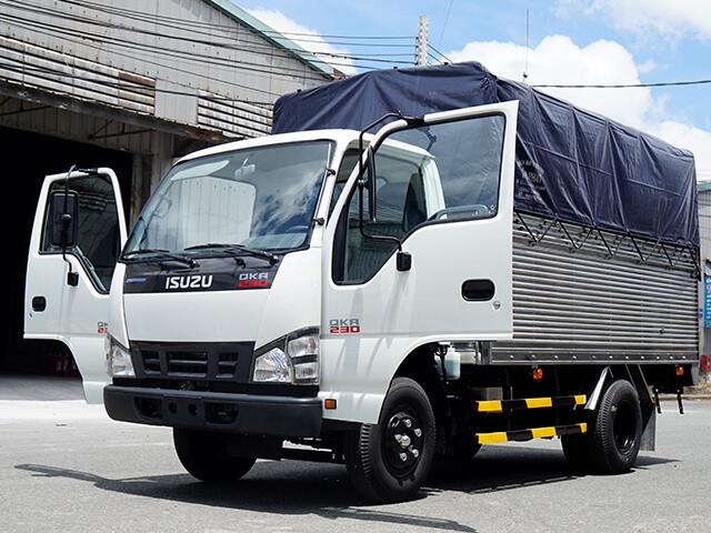 Giá xe tải Isuzu 1.4 tấn thùng mui bạt(2)