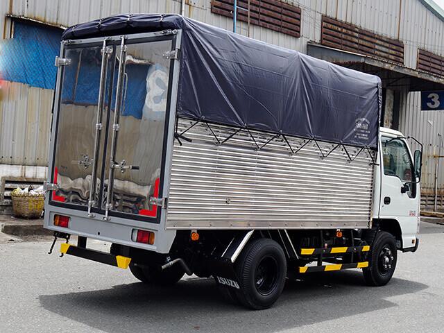 Giá xe tải Isuzu 1.4 tấn thùng mui bạt(3)