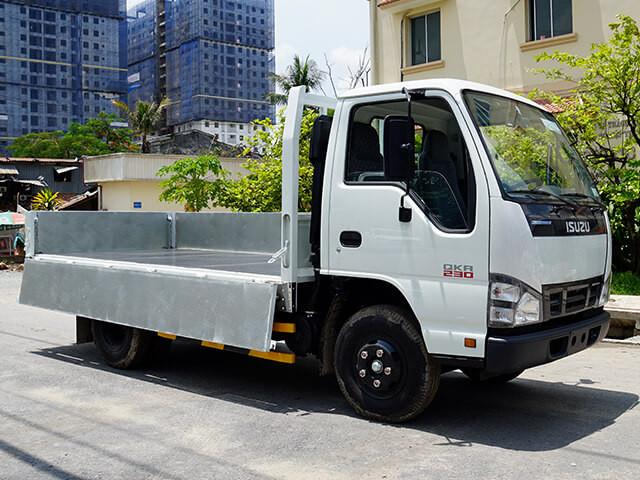 Giá xe tải Isuzu 1.4 tấn thùng lửng(2)