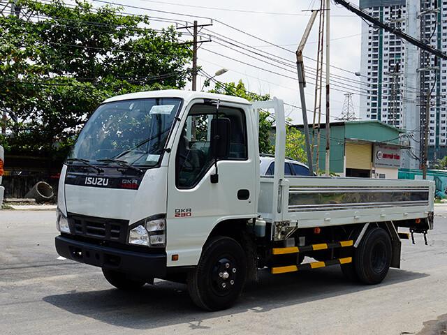 Giá xe tải Isuzu 1.4 tấn thùng lửng(4)