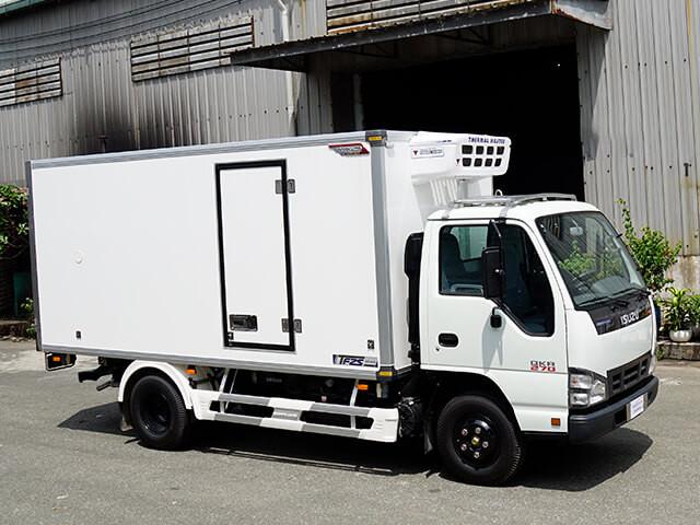 Giá xe tải Isuzu 1.4 tấn thùng đông lạnh(5)