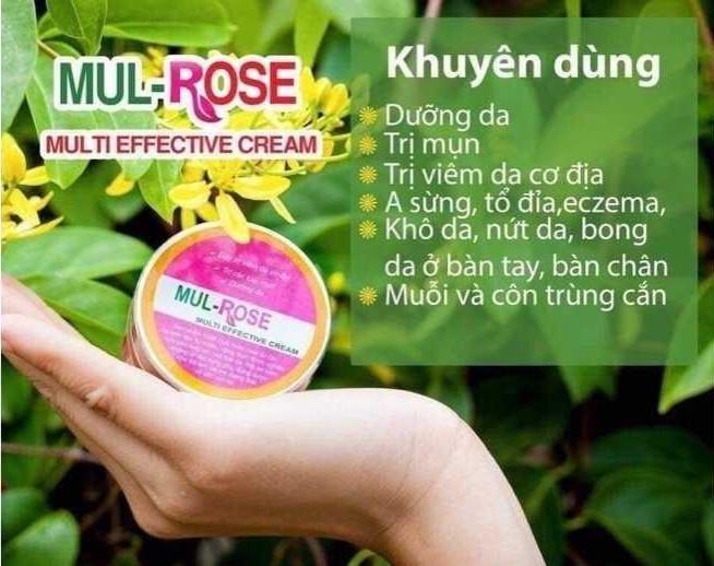 Hướng dẫn sử dụng kem Mul Rose(1)
