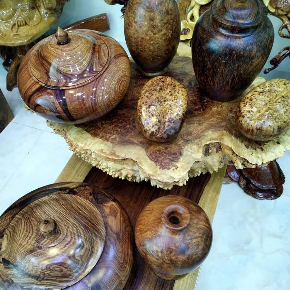 Kinh doanh các sản phẩm điêu khắc từ gỗ nu hương