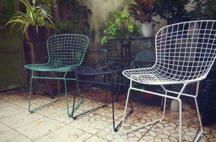 Mẫu bàn ghế sắt mỹ nghệ đẹp