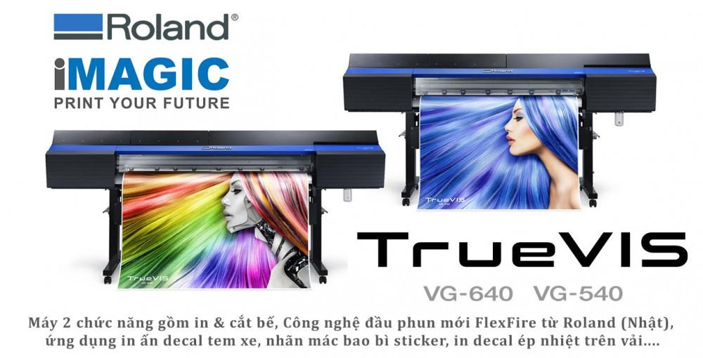 Đại lý chính thức máy in, máy cắt hiệu Roland (Nhật Bản) tại Việt Nam