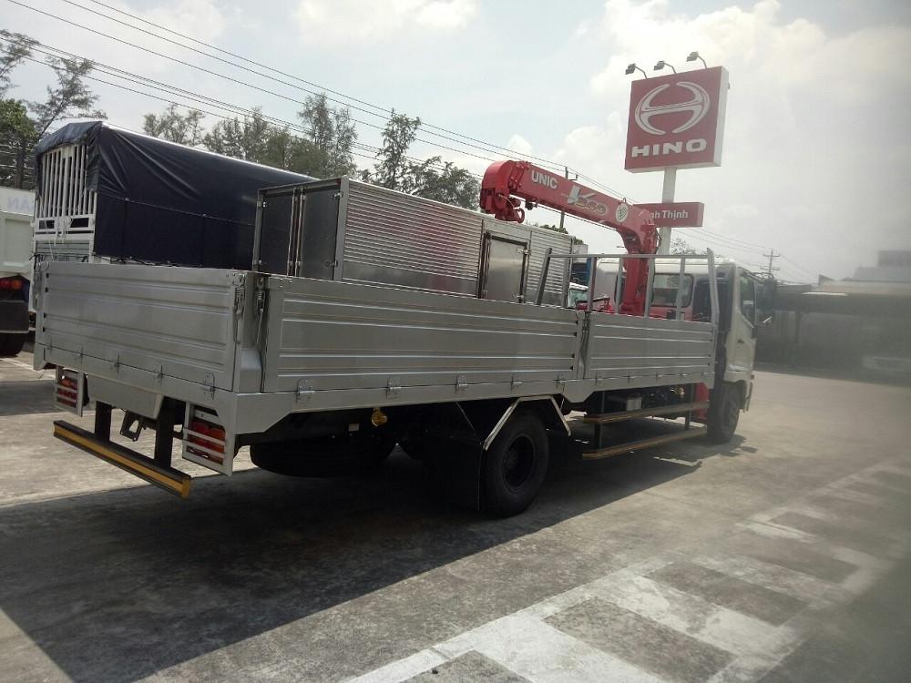 xe tải gắn cẩu Hino FC9jlsw 5 tấn