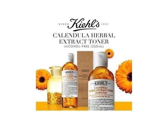 Thông tin chi tiết toner hoa cúc Kiehl's