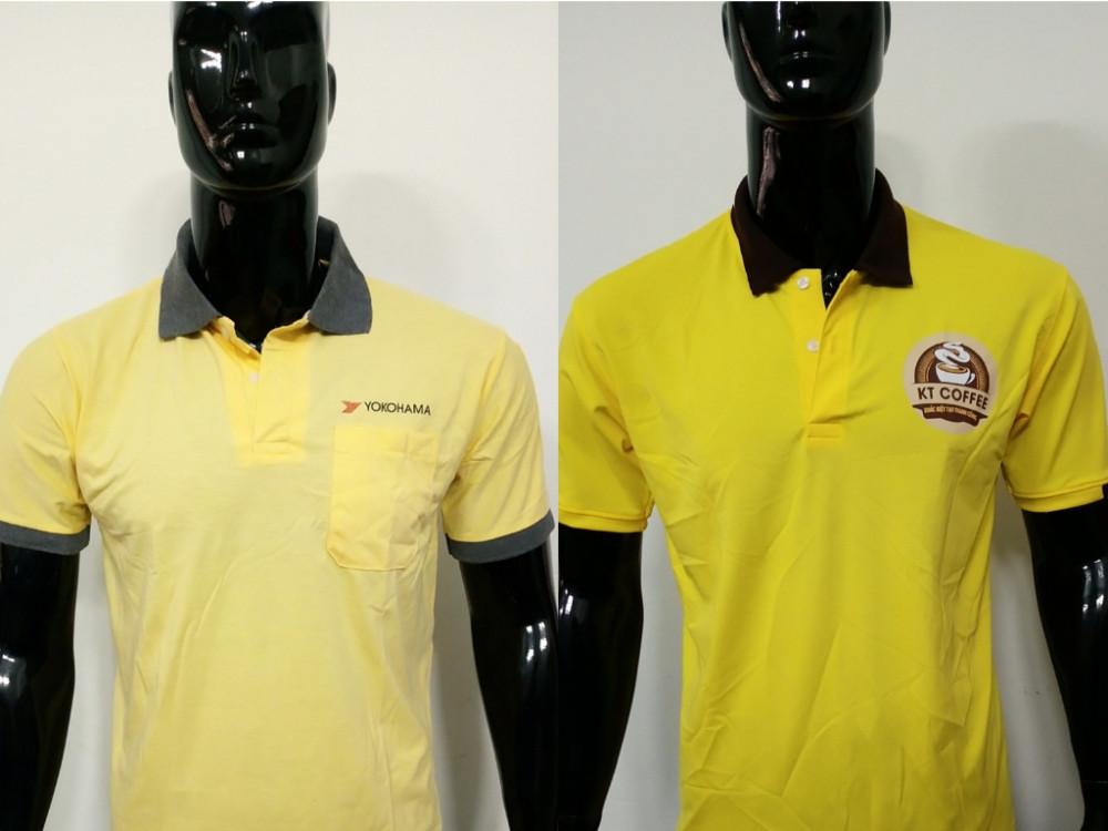 Mẫu áo thun cổ trụ - Xưởng may áo thun đồng phục TPHCM