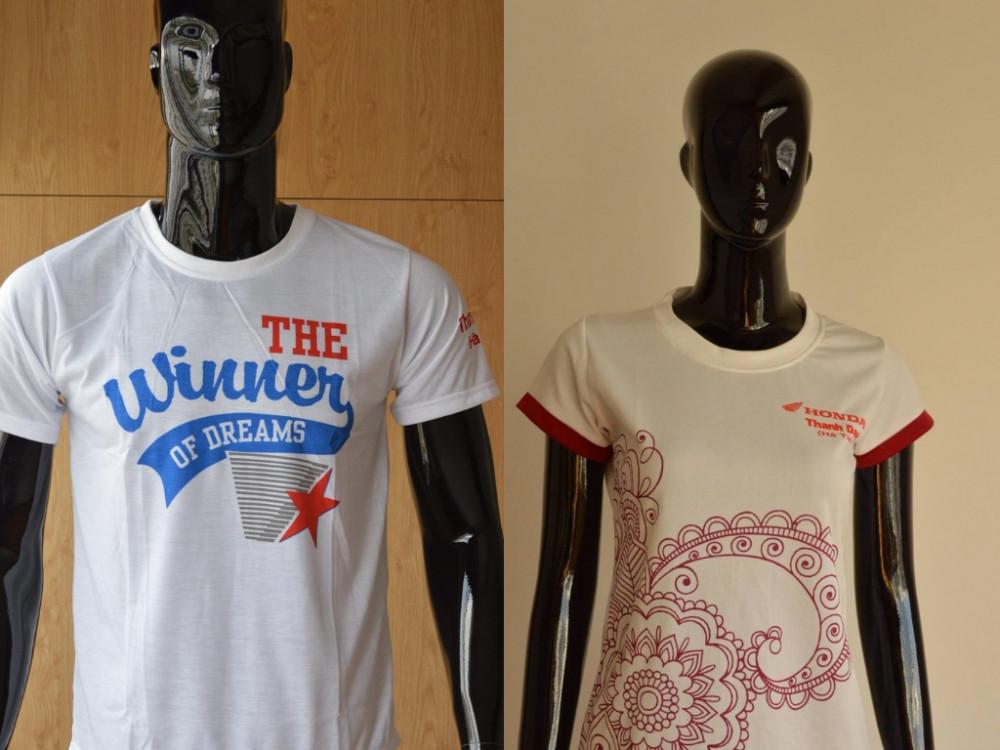 Mẫu áo thun in chữ  - Xưởng may áo thun đồng phục TPHCM
