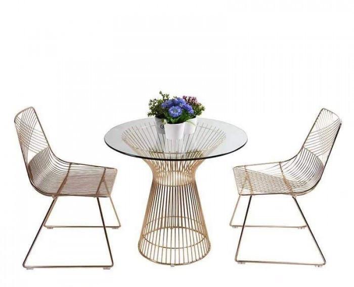 Ưu điểm của bàn ghế sắt mỹ nghệ