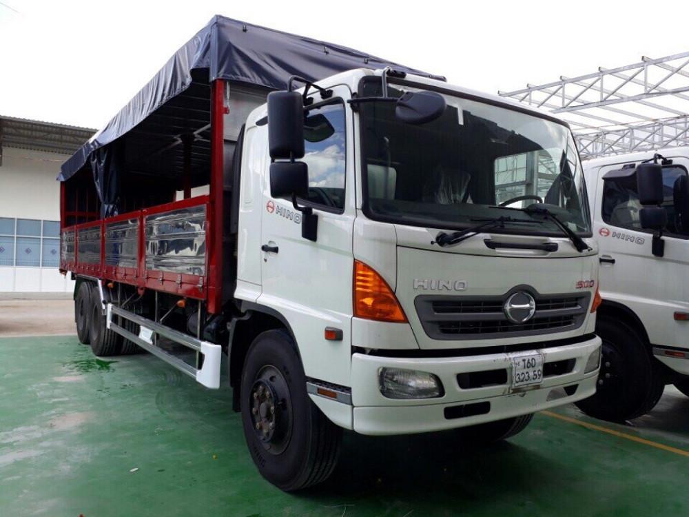 Giá xe tải Hino 16 tấn thùng mui bạt(1)