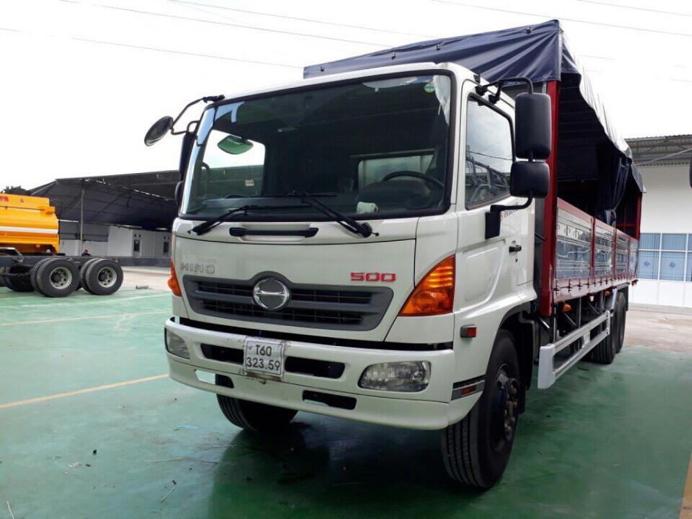 Giá xe tải Hino 16 tấn thùng mui bạt(2)