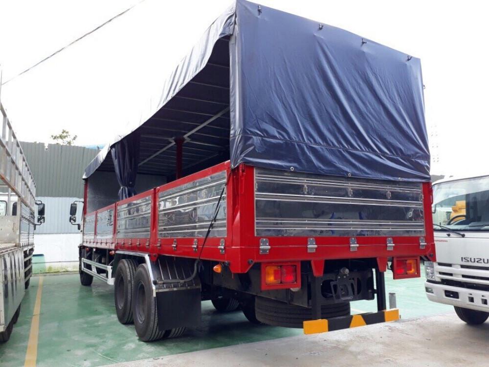 Giá xe tải Hino 16 tấn thùng mui bạt(4)