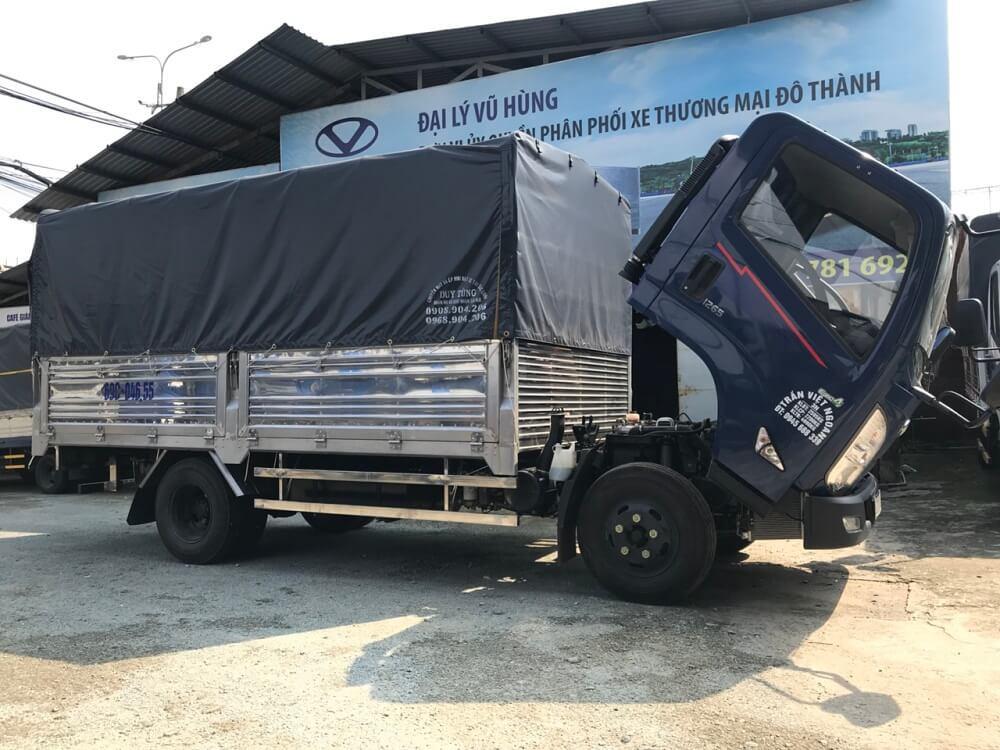 Ngoại Thất xe tải 3.5 tấn Hyundai IZ65 thùng mui bạt có gì đặc biệt?
