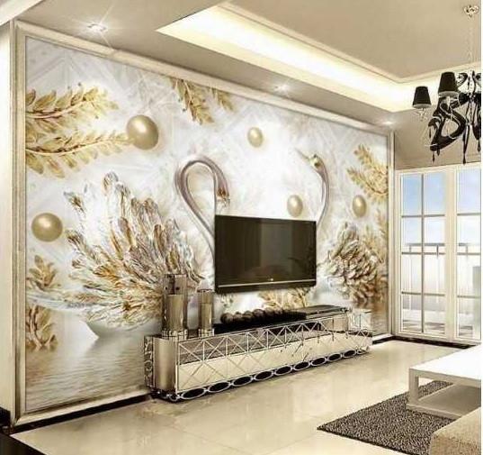 Những ưu điểm của tranh dán tường