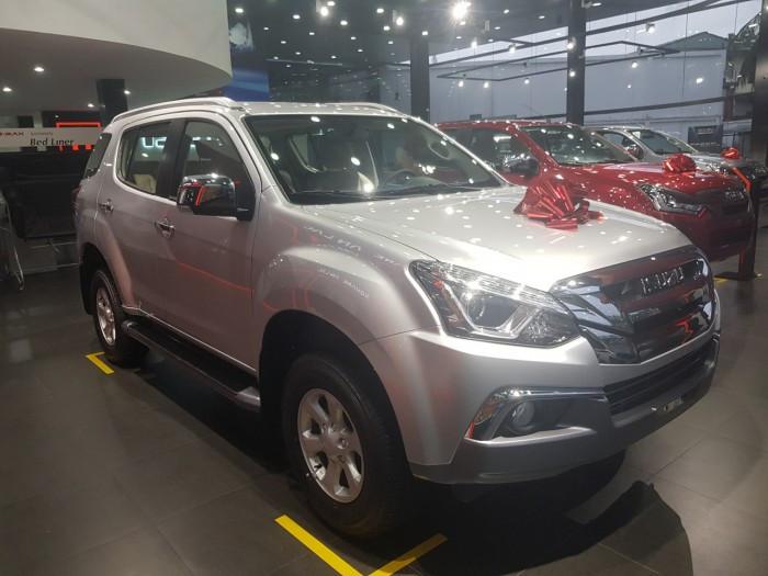 Báo giá xe Isuzu Mu-X 2018 mới nhất