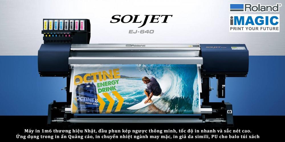Chọn lựa máy in chuyển nhiệt, in vải 3d khổ lớn tốt nhất hiện nay - Roland Texart RT640/ XT640, SolJet EJ640, RF640