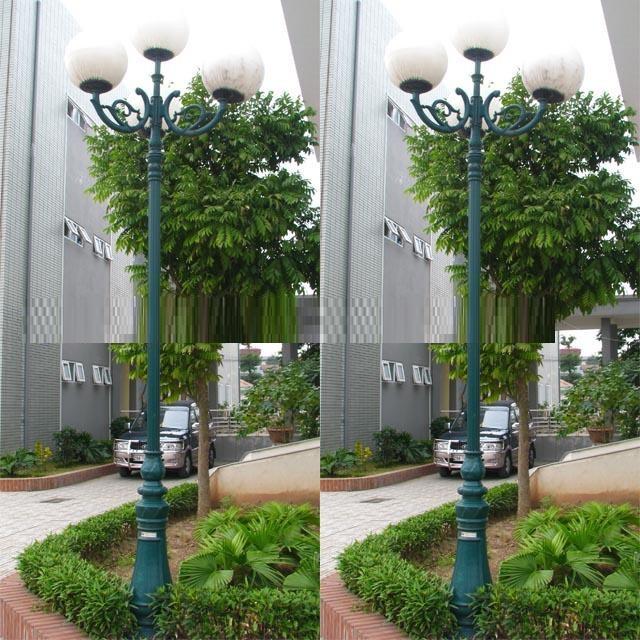 Cung cấp cột đèn trang trí sân vườn giá rẻ Hà Nội
