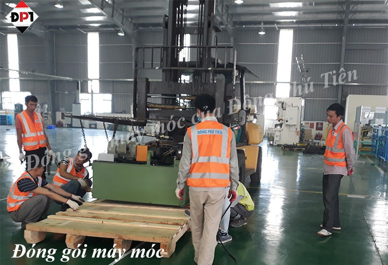 Dịch vụ đóng hộp gỗ cho hàng hóa tại Bắc Giang