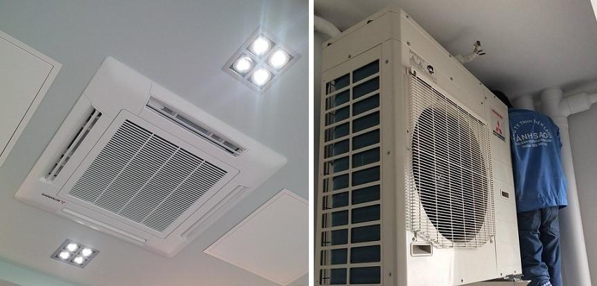 Đơn vị uy tín bán máy lạnh Mitsubishi Heavy FDT125CR-S5 (5Hp) quận Gò Vấp, TPHCM