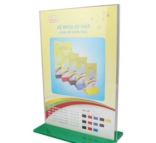 Sản phẩm kệ menu để bàn in logo theo yêu cầu tại Thanh Xuân, Hà Nội
