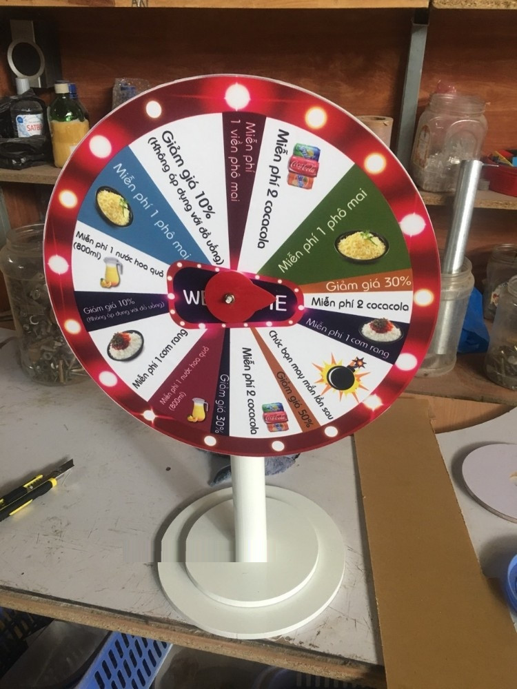 Sản phẩm vòng quay để bàn giá rẻ - Vừa với túi tiền của bạn