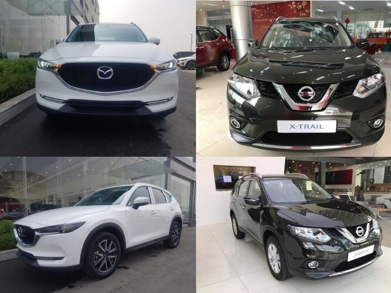 So sánh xe Nissan X-Trail và Mazda CX-5: nên chọn mua xe nào?