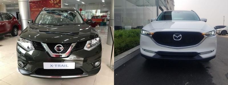 So sánh xe Nissan X-Trail và Mazda CX-5: nên chọn mua xe nào?(1)