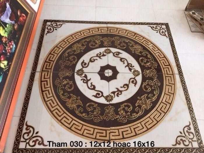 Những thông tin cần biết về gạch thảm phòng khách
