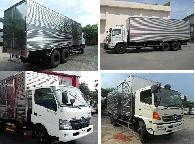 Giá xe tải Hino 16 tấn thùng kín bao nhiêu?