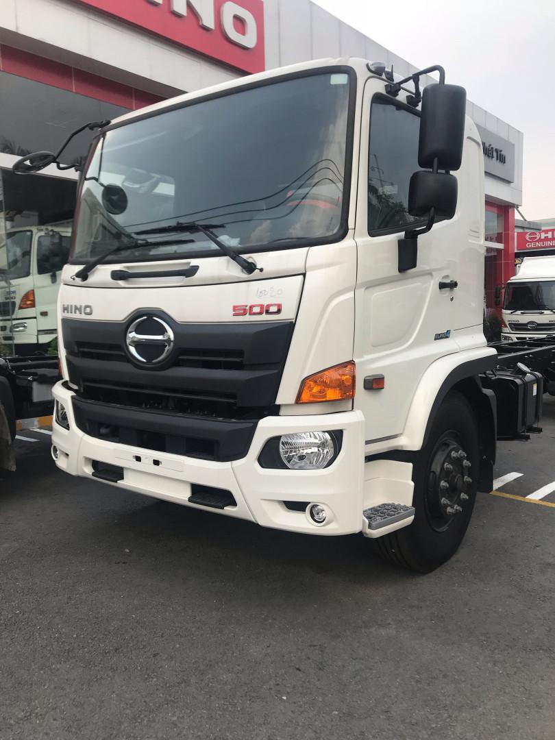 Giá xe tải Hino 16 tấn thùng lửng(1)
