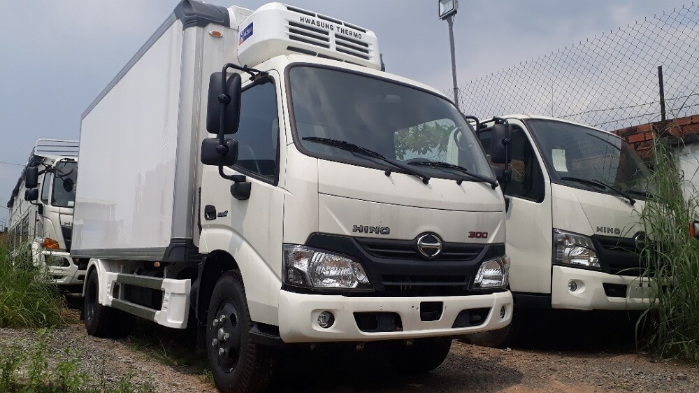 Những ưu điểm nổi bật của xe tải Hino 4 tấn