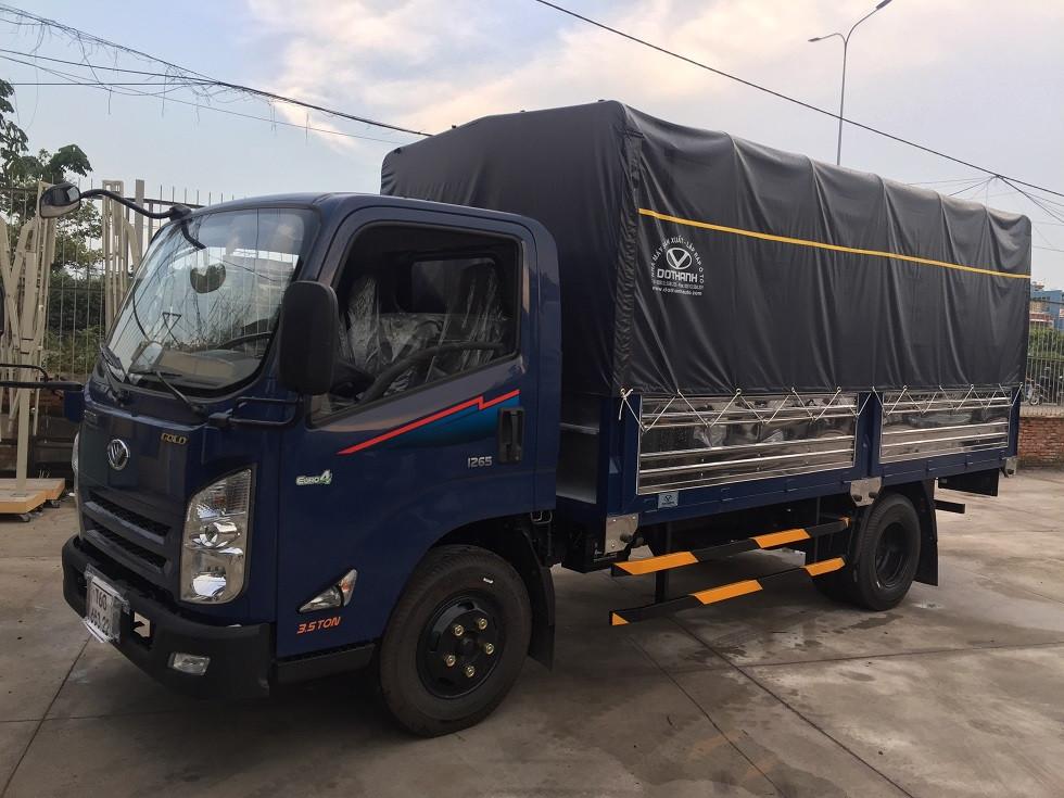 Bảng giá xe tải IZ65  2.5 tấn, hổ trợ trả góp 80% lãi suất cực thấp
