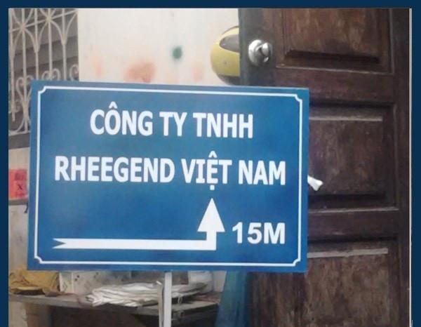 Các loại biển chỉ dẫn nhiều chất liệu giá rẻ tại Quận Thanh Xuân(6)