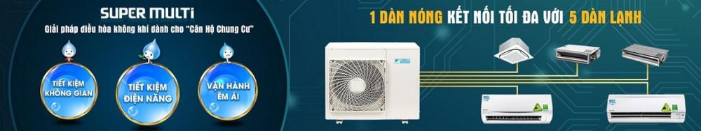 Dàn lạnh treo tường Multi Daikin CTKM25RVMV (1Hp, Inverter)