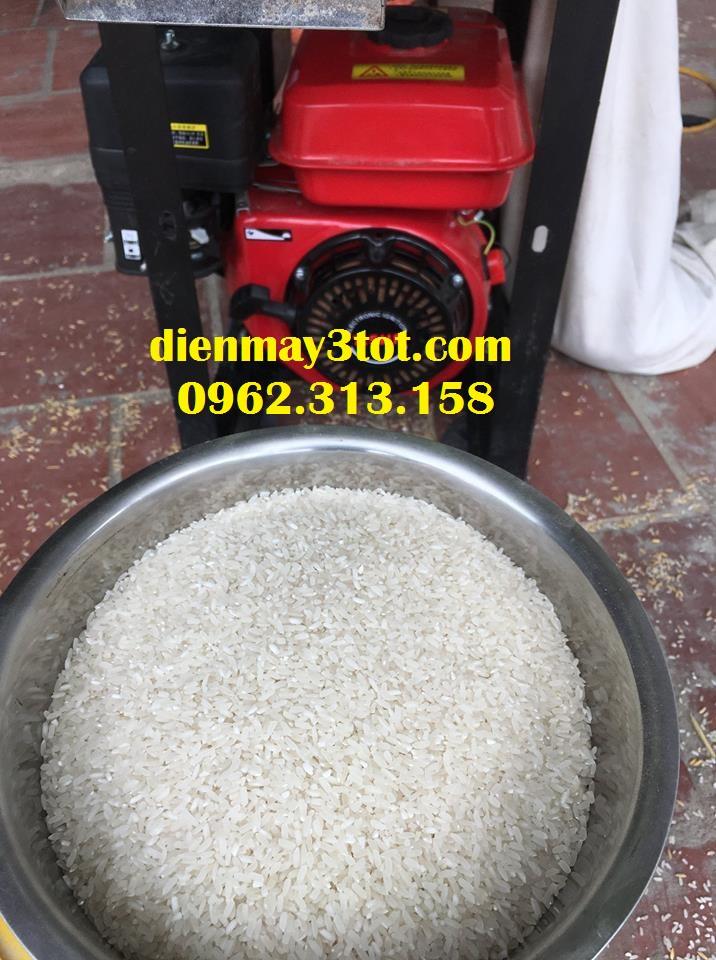 Máy xát gạo mini, máy xát gạo gia đình chỉ 1 lần sạch vỏ trấu, không bị nát hạt gạo