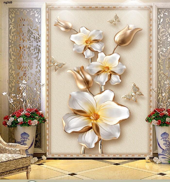 Các loại tranh gạch 3D sử dụng phổ biến trong trang trí nội thất