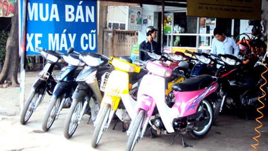 Cảnh giác mua xe máy cũ  tại Hà Nội cẩn thận kèo bị lừa