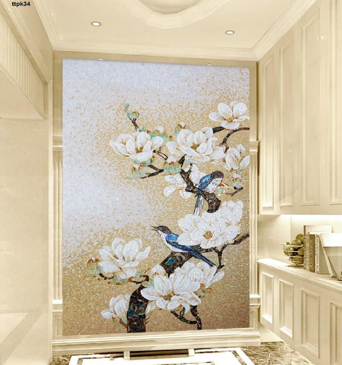 Cải thiện không gian ngôi nhà với các mẫu tranh gạch 3d đẹp, độc đáo