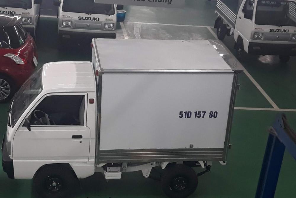 Bán xe tải nhẹ 500kg Nguyễn Duy Trinh, quận 2, TPHCM - Suzuki Super Carry Truck 2018