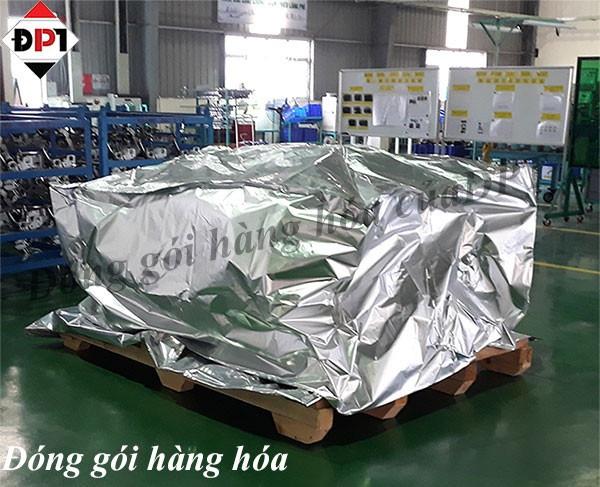Quy trình đóng gói hàng hóa bằng thùng gỗ tại công ty Đông Phú Tiên