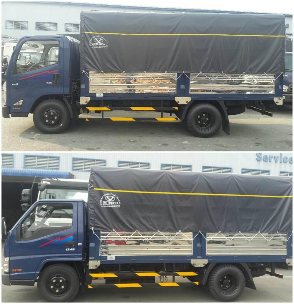 So sánh xe tải 2.5 tấn Hyundai iz49 và Hyundai iz65 về kết cấu thùng xe