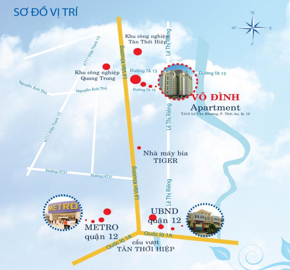 Chung cư giá tốt nhất chỉ có ở Võ Đình Apartment.(2)