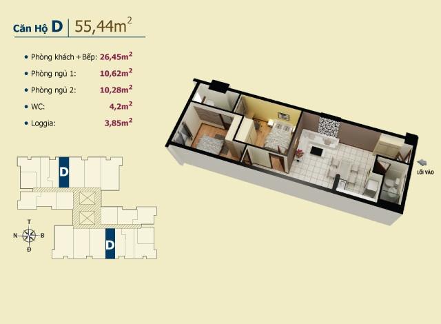 Chung cư giá tốt nhất chỉ có ở Võ Đình Apartment.(7)