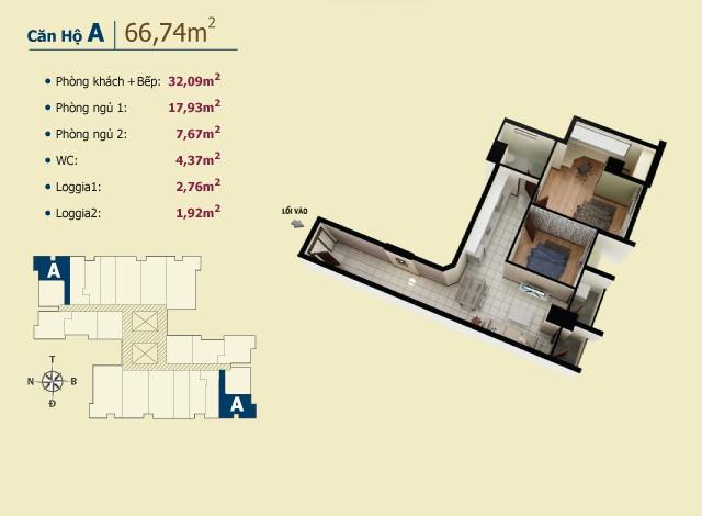 Chung cư giá tốt nhất chỉ có ở Võ Đình Apartment.(8)