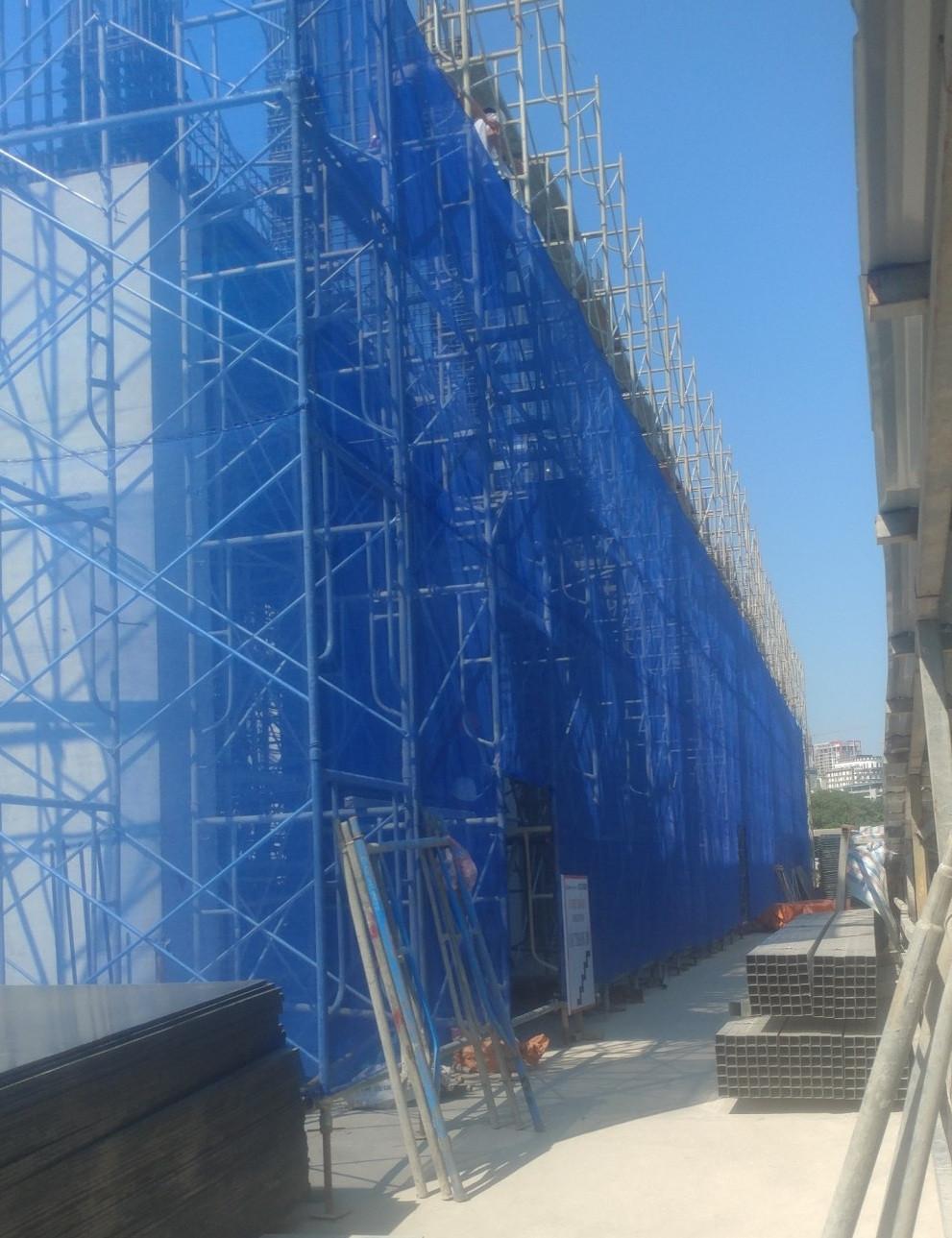 Mua lưới che bụi công trình theo tiêu chuẩn của Bộ Xây Dựng tại Nam Từ Liêm, Hà Nội