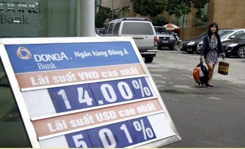 Làm biển lãi suất ngân hàng giá rẻ - Cung cấp các loại biển lãi suất tại Thanh Xuân, Hà Nội
