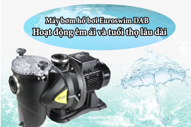 Chọn máy bơm hồ bơi dựa theo lưu lượng, cột áp, thể tích đường ống