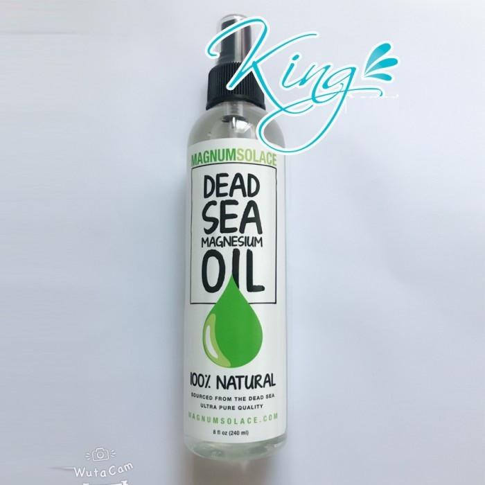 Những công dụng tuyệt vời của dầu Magiê từ muối biển chết - Magnesium Oil Spray