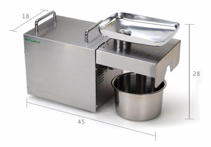Máy ép dầu thực vật  gia đình STB-505 - Dòng máy bền thiết kế sang trọng đẹp mắt